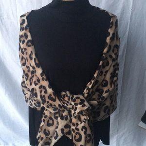 Zara Leopard Shawl/Cover